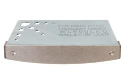 Crescent™ Series Hardscape Light - Brushed Stainless Steel