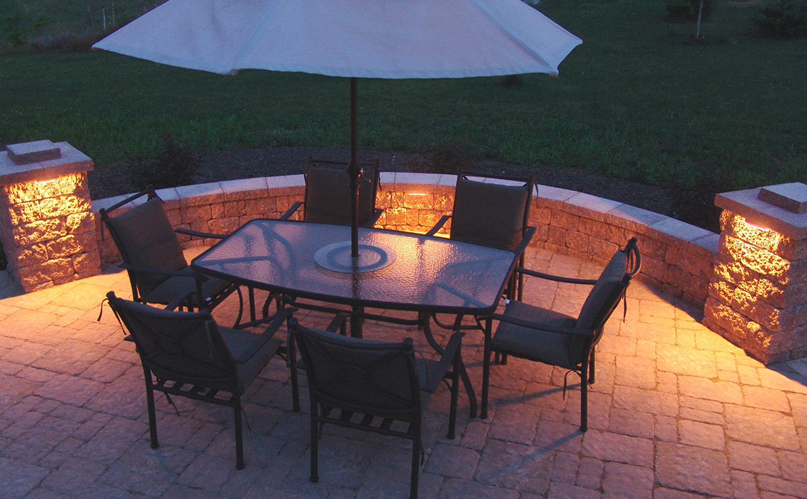 Evening Star Lighting Products Paver Lights Deck