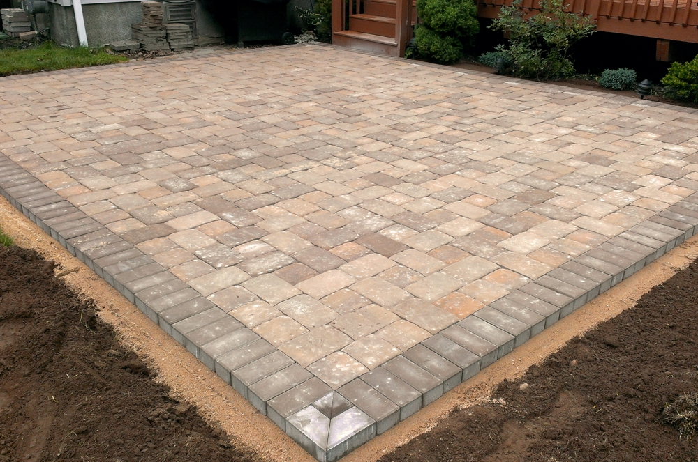 Installation Of Evening Star Lighting Products Paver