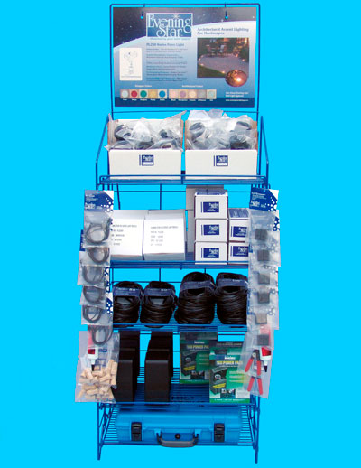 Point of Purchase Floor Display for Decking (ESPOPD)